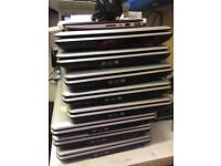 Range of laptops spares or repairs faulty untested pcs tablets
