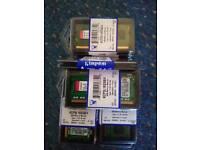 Kingston 4gb DDR3 RAM 204pin 1600mhz x5 modules