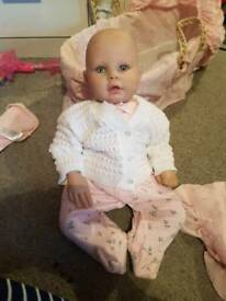 Reborn doll and accessories