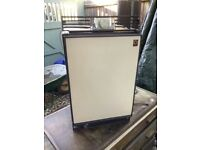 Electrolux dual voltage (12v and mains) and bottled gas fridge model RM122