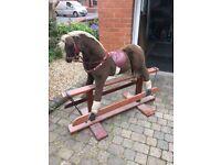 Vintage Pegasus rocking horse