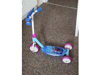Kids frozen scooter 1-3 years