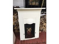 Authentic cast iron fire surround, great condition