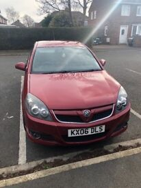 Vauxhall Vectra 2006 SRI, full leather, sat nav, DVD player screens built into headrests, bluetooth