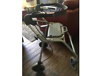4 Wheeled Dolomite Melody M walker/rollator