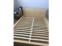 Ikea malm double bed