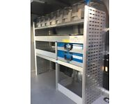 Van Racking / Shelving - SORTIMO - Very Good Condition - Tool Boxes - Shelving - Tool Station