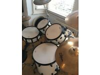 Mapex Fusion kit with multiple cymbals and stands - all very good condition