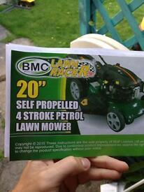 Bmc lawn racer petrol mower