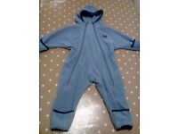 Fleece all in one 6\12 months