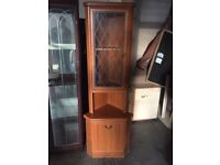 Nice corner unit with storage very clean excellent condition can deliver very local