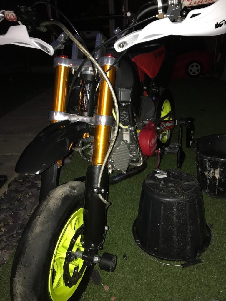 Pit bike super moto