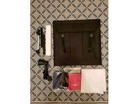 Mini portable photo studio kit