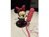 Disney Telephone Featuring MINNIE MOUSE