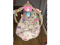 Fisher Price cosy cacoon pink bouncer