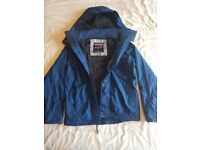 Hollister - All Weather Jacket - Mens Small - Blue