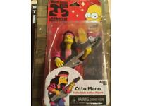 Simpsons woo hoo guest star Otto Mann figure