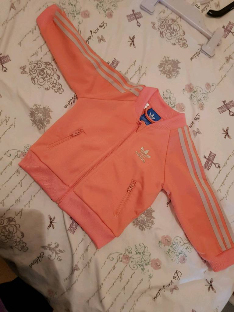 Baby Girl Adidas track suit