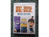 Despicable Me & Despicable Me2 DVD 6 mini movies collection