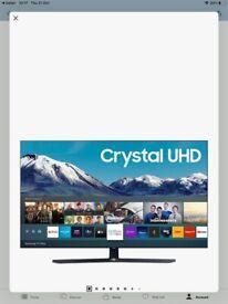 "Samsung 50"" 4K smart TV 2020 model"
