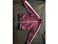 Smart Fred Perry Jacket Burgendy