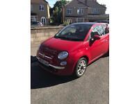 Fiat 500 Sport - 2009- 56,000 miles- Red