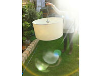 Contemporary Statement XXL Huge Ceiling Lampshade Light Fitting with Diffuser Panel
