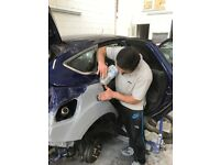 Bodyshop,panel Beating, repair and spray