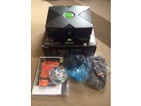 MICROSOFT XBOX (non standard) CONSOLE - boxed complete