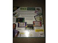Race night board and DVD game
