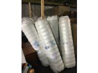 king size foam mattress super ortho rrp£304 brand new vacuum packed