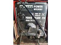 sealy power welder 210 with hundreds of welding rods