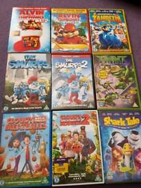childrens dvd collection.