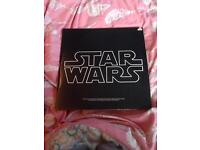 Star Wars vinyl.