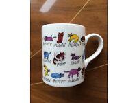 NEW Tyrell Katz McLaggan Smith Cat Cartoon Comic Art Mug Humour Novelty Cute