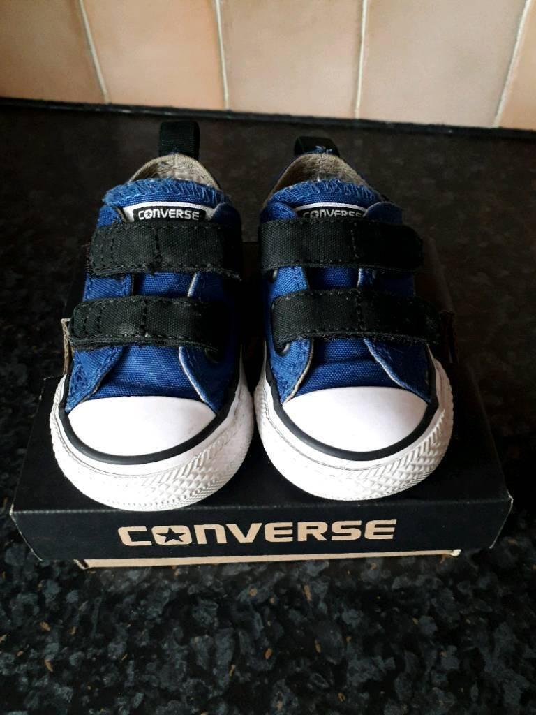 d25dfe4b7c1da8 Baby toddler boys Converse Shoe Infant size 3