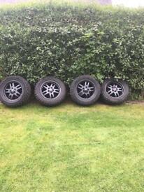 Land Rover, Range Rover wheels tyres