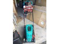 Electric Lawnmower. 1 year old. Very good condition