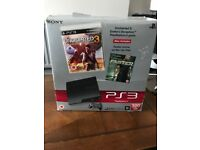 PS3 350GB with 2 controllers + 2 games