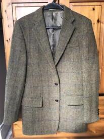 Harris tweed men's jacket