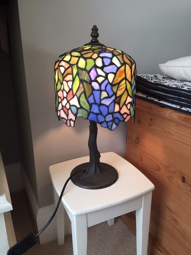 Tiffany Style Multi Coloured Table Lamp In Brighton East Sussex