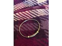 Baby's/ child's silver bangle