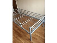 Bed - metal. Used but in good condition