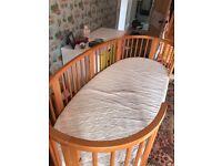 Stokki Sleepi cot and junior bed conversion kit