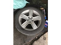 "16"" alloy wheels and tyres"