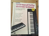Yamaha ypt255 electronic keyboard