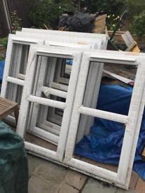 UPVC 5 windows, no glass