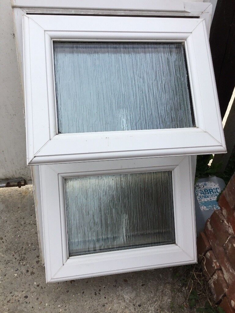Small Upvc Bathroom Window 560mm Wide X 860mm High In