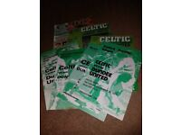 18 Celtic Football Club Programmes (1972 - 1994)