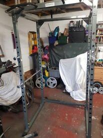 Power rack squat cage
